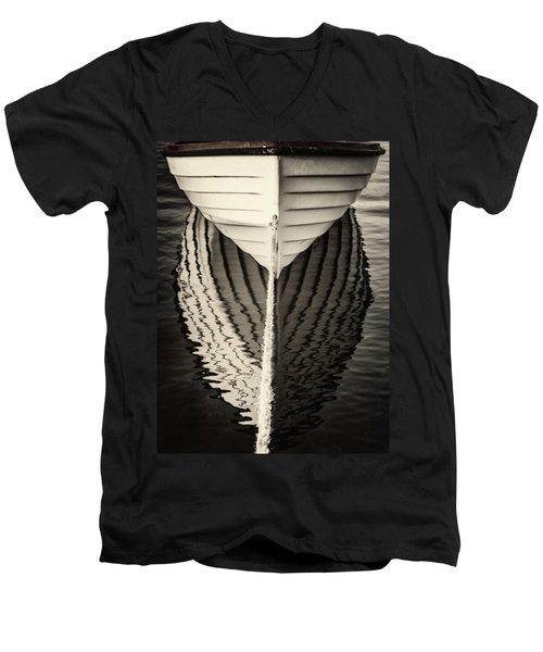 Boat Mirrored Men's V-Neck T-Shirt