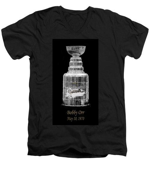 Bobby Orr 3 Men's V-Neck T-Shirt
