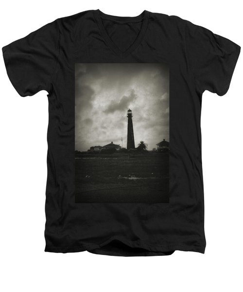 Bolivar Lighthouse Men's V-Neck T-Shirt
