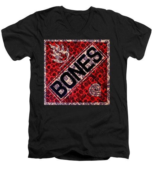 Bones Men's V-Neck T-Shirt