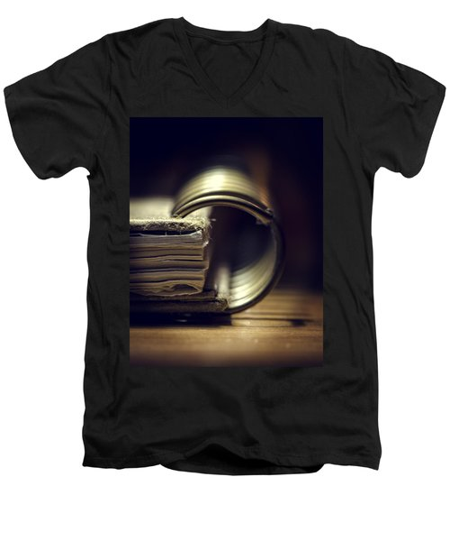 Book Of Secrets Men's V-Neck T-Shirt