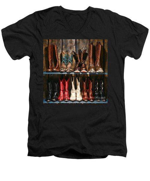 Boot Rack Men's V-Neck T-Shirt