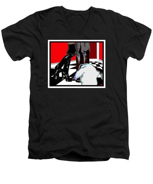 Booty Call Men's V-Neck T-Shirt