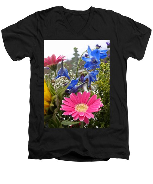 Bouquet Men's V-Neck T-Shirt