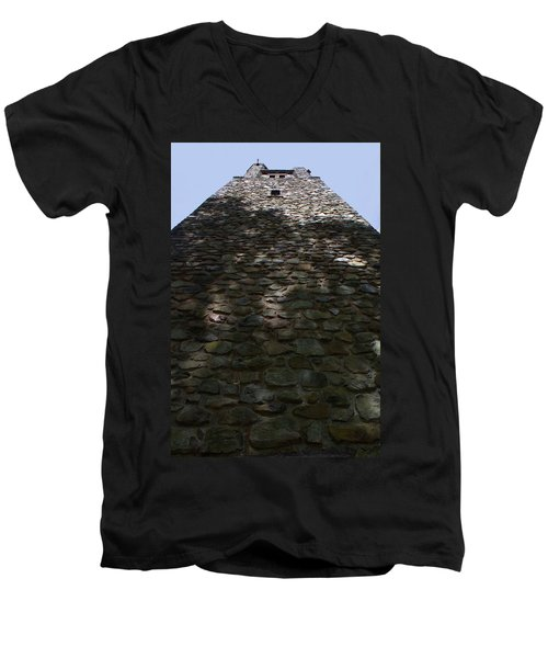 Bowman's Hill Tower Men's V-Neck T-Shirt