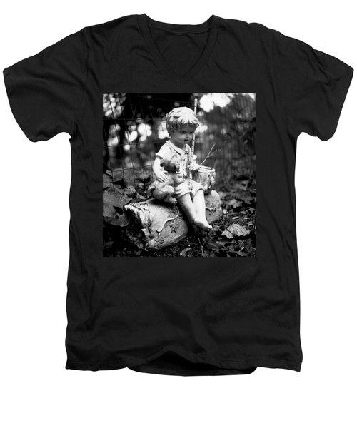 Boy And Best Friend Men's V-Neck T-Shirt