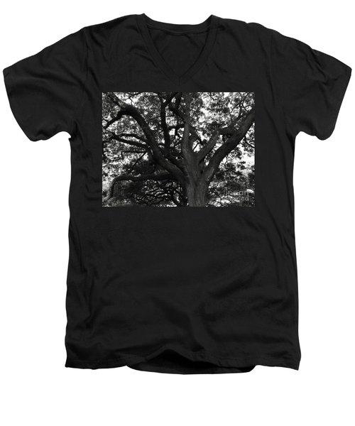Branches Of Life Men's V-Neck T-Shirt