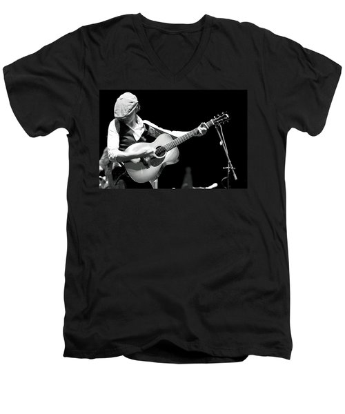 Brandi Carlile Count Basie Theatre Men's V-Neck T-Shirt