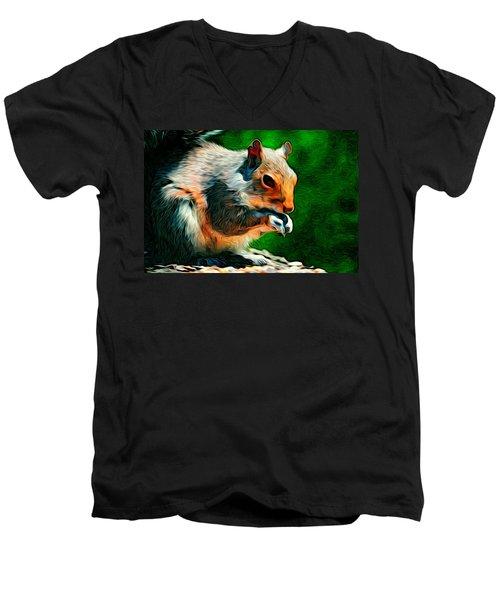 Brazen And Unrepentant Men's V-Neck T-Shirt
