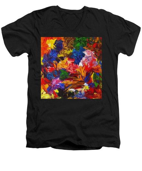Brazilian Carnival Men's V-Neck T-Shirt