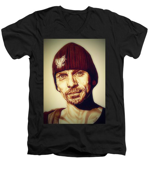 Breaking Bad Skinny Pete Men's V-Neck T-Shirt by Fred Larucci