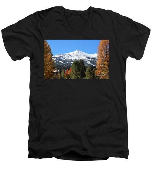 Breckenridge Colorado Men's V-Neck T-Shirt