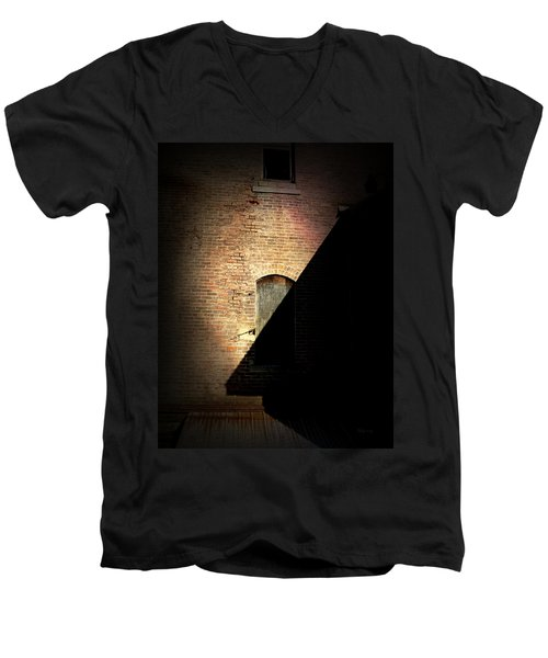 Brick And Shadow Men's V-Neck T-Shirt
