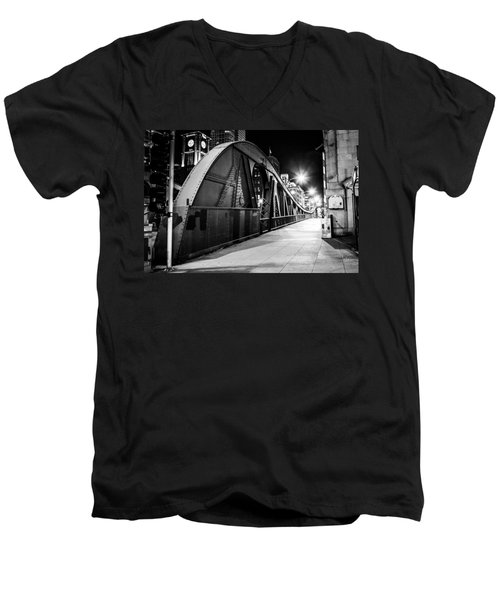Bridge Arches Men's V-Neck T-Shirt by Melinda Ledsome