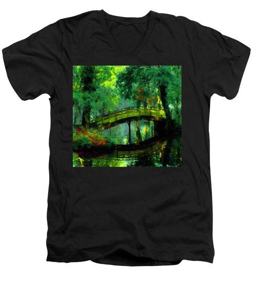 Bridge Of Dreams Men's V-Neck T-Shirt