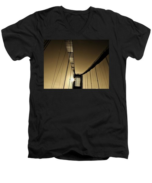 Bridge Work Men's V-Neck T-Shirt