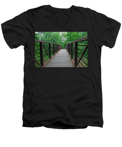 Bridging The Gap Men's V-Neck T-Shirt
