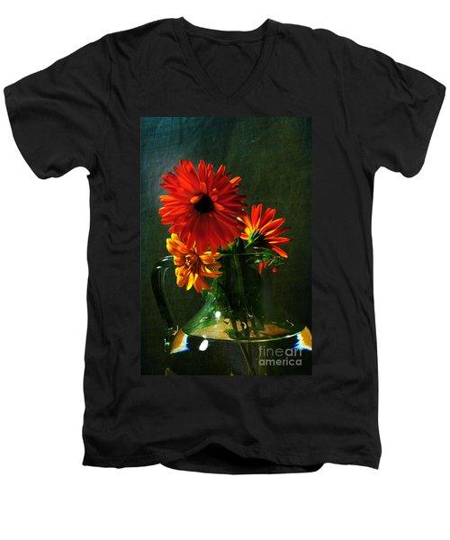Bright And Dominant Men's V-Neck T-Shirt