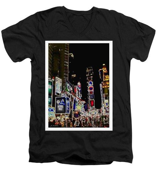 Broadway Men's V-Neck T-Shirt