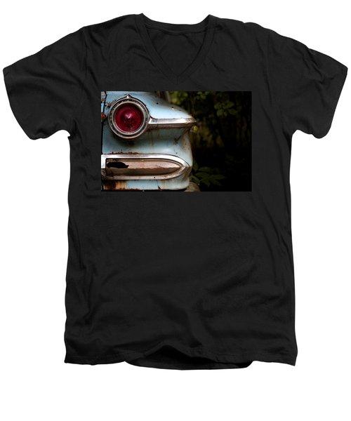 Men's V-Neck T-Shirt featuring the photograph Broken Elegance by Rebecca Davis