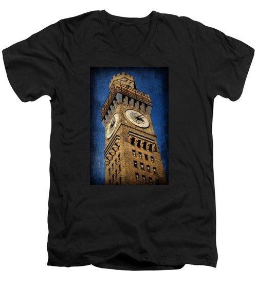 Bromo Seltzer Tower No 3 Men's V-Neck T-Shirt