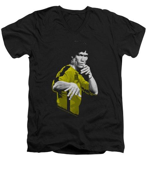 Bruce Lee - Suit Of Death Men's V-Neck T-Shirt