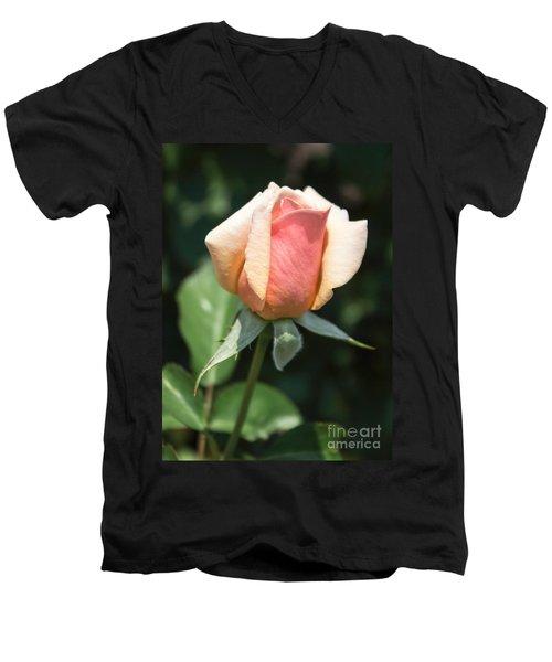 Budding Romance Men's V-Neck T-Shirt