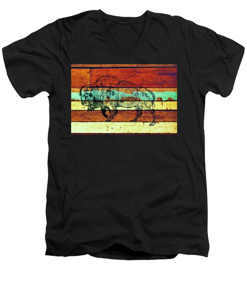 The Great Gift Men's V-Neck T-Shirt by Larry Campbell