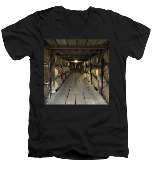 Buffalo Trace Rick House - D008610sq Men's V-Neck T-Shirt