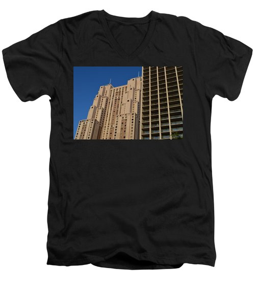 Building Blocks Men's V-Neck T-Shirt by Shawn Marlow
