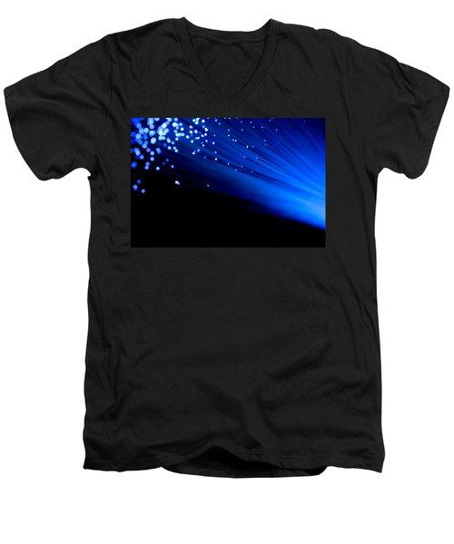 Bullet The Blue Sky Men's V-Neck T-Shirt