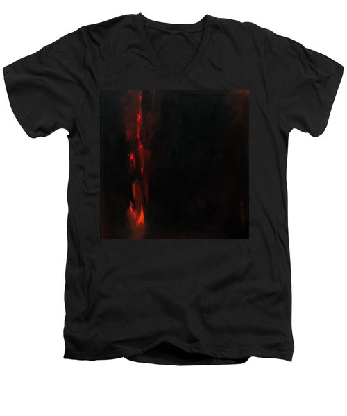 Burn Men's V-Neck T-Shirt