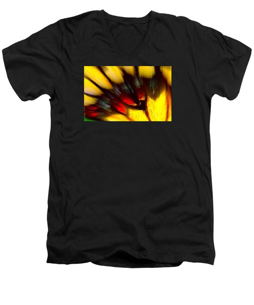 Butterfly Wing Pastel Men's V-Neck T-Shirt