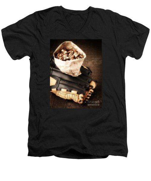 Buy Me Some Peanuts And Cracker Jack Men's V-Neck T-Shirt