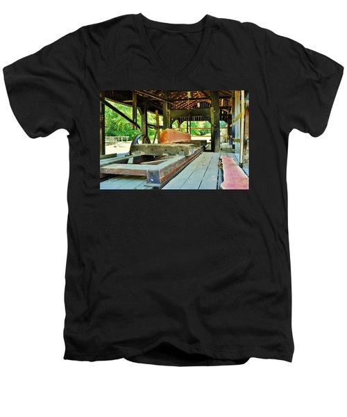 Bye Bye Tree  Men's V-Neck T-Shirt