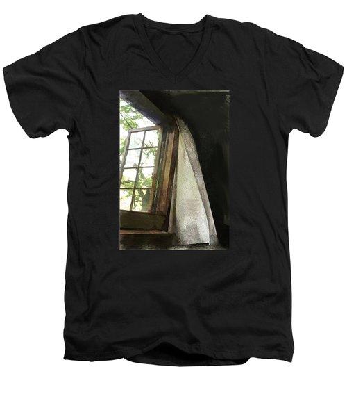 Cabin Window Men's V-Neck T-Shirt