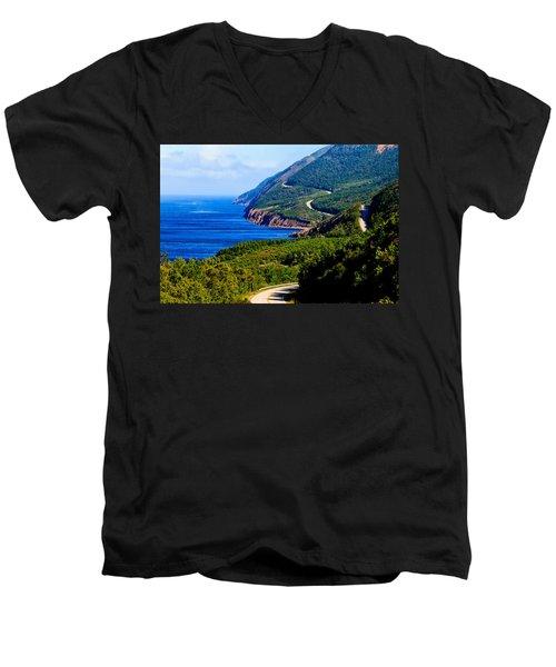 Cabot Trail Men's V-Neck T-Shirt