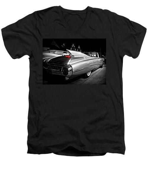 Cadillac Noir Men's V-Neck T-Shirt