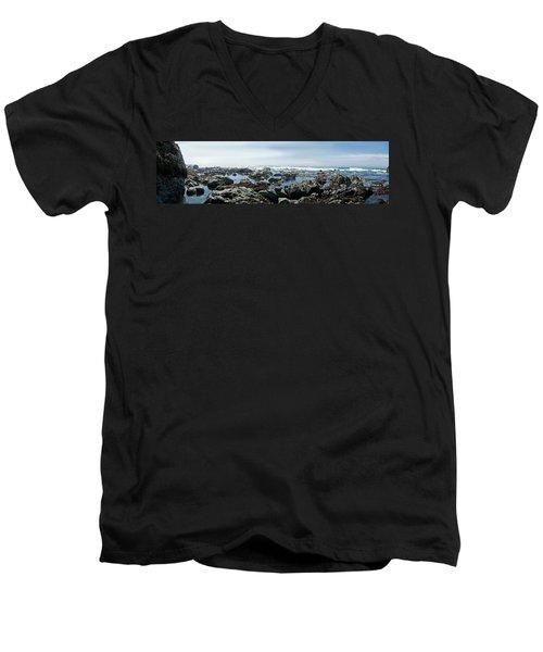 California Beach 1 Men's V-Neck T-Shirt