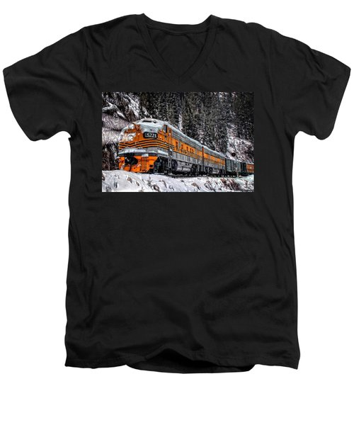 California Zephyr Men's V-Neck T-Shirt