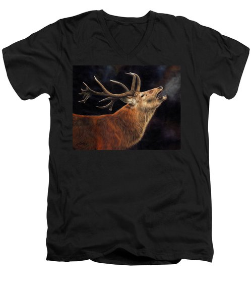 Call Of The Wild Men's V-Neck T-Shirt