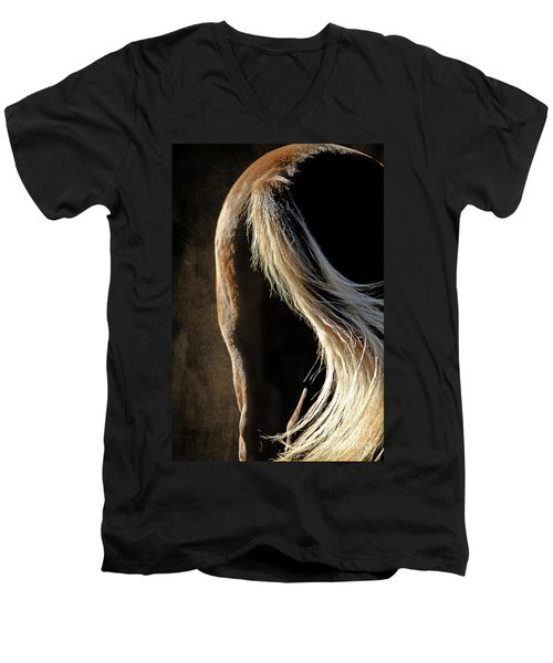Calm Awareness 3 Vignette Men's V-Neck T-Shirt
