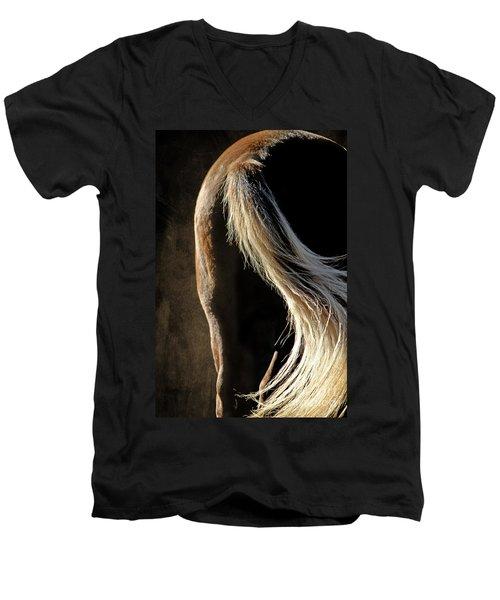 Calm Awareness 3 Vignette Men's V-Neck T-Shirt by Michelle Twohig