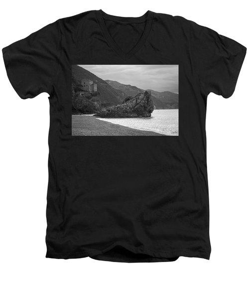 Calm Before The Storm Men's V-Neck T-Shirt