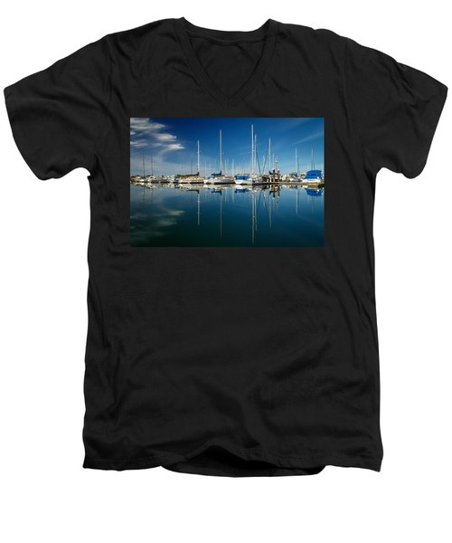 Calm Masts Men's V-Neck T-Shirt