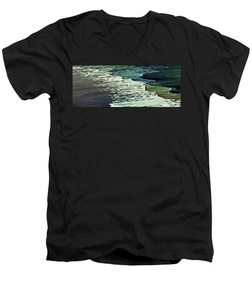 Calm Shores Men's V-Neck T-Shirt
