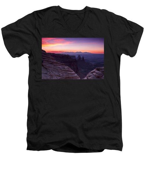 Canyonlands Sunrise Men's V-Neck T-Shirt