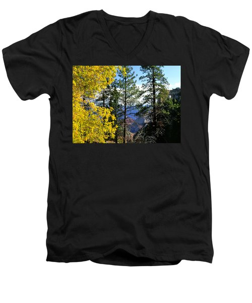 Cape Royal Grand Canyon Men's V-Neck T-Shirt