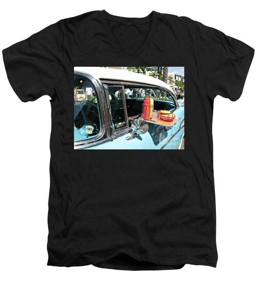 Car Hop Men's V-Neck T-Shirt