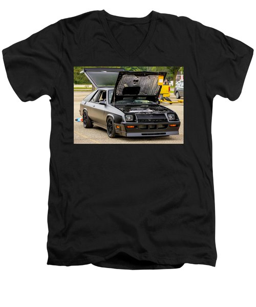 Car Show 051 Men's V-Neck T-Shirt